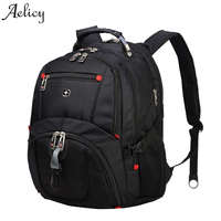 Aelicy Backpack Male Lightweight Casual Travel Backpacks Massage Shoulder Straps Laptop Backpack School Waterproof Rucksack