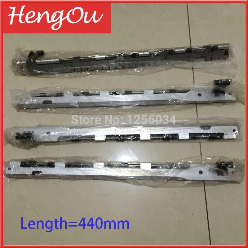 все цены на 4 pieces T-plante gripper bar for printing machine heidelberg length=440 онлайн