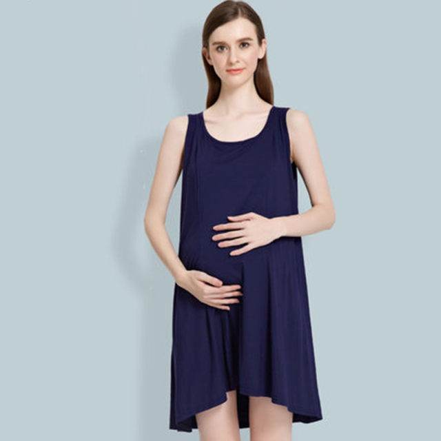 Pregnancy Clothes For Maternity Women Wear Big Sizes Sundress For ...