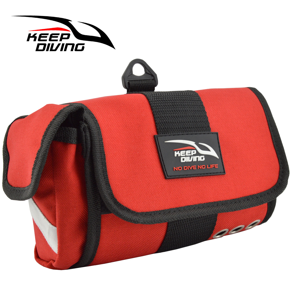 Keep Diving Storage Bag Diving Bag For Masks + Tubes Snorkels Quick Dry Portable Scuba Diving Accessories