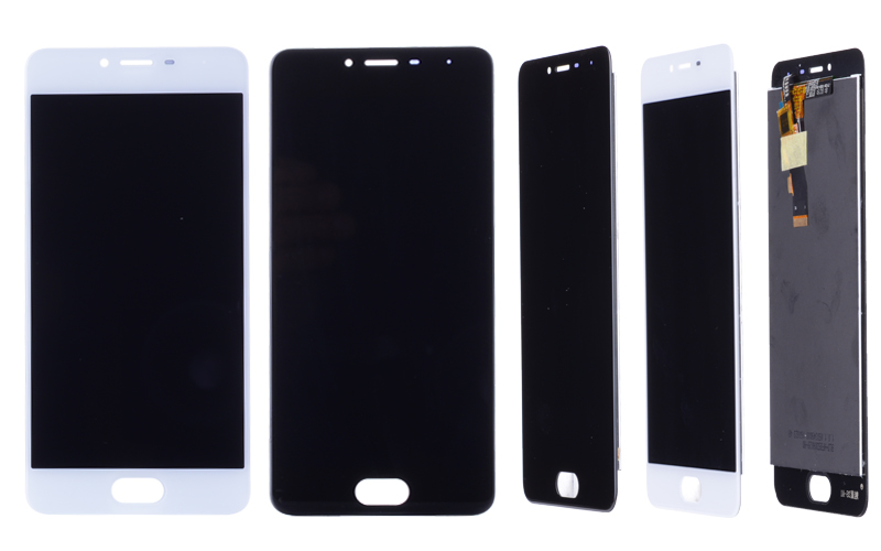 5.0 Black White Original M3S Mini LCD For MEIZU M3S Display Touch Screen with Frame M3 S LCD Screen Y685H Replacement (5)