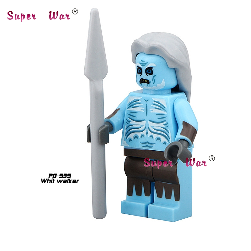 20pcs star wars superhero Game of Thrones White Walker building blocks action figure bricks model educational diy baby toys