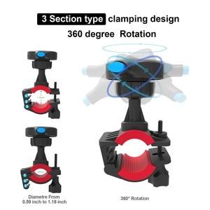 Image 3 - אופני אופניים אופנוע כידון הר מחזיק טלפון סלולרי תיק מחזיק עם עמיד הלם מקרה הגנת Stand עבור Iphone Xr/Xs מקסימום