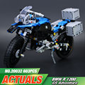 New 2017 Lepin 20032 Technic Series The BAMW Off-road Motorcycles R1200 GS Building Blocks Bricks Educational Toys  42063