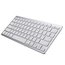 Ultra-Slim Bluetooth drahtlose tastatur für iPhone 11 Pro für iPad Android Tablet PC Telefon und anderen bluetooth-fähigen geräte