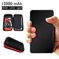 12000mAh Mini Portable Car Jump Starter Power Bank Black Emergency Charger Battery Booster for Diesel Petrol Car Mobile CS009BK