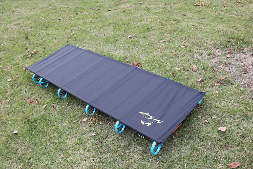 Hi suyi Portable Folding Single Camping Bed Aluminium Alloy Travel Tent Cot Outdoor Camping Mat ultralight aluminium alloy camping mats folding bed portable hiking bbq bed outdoor new brand p20