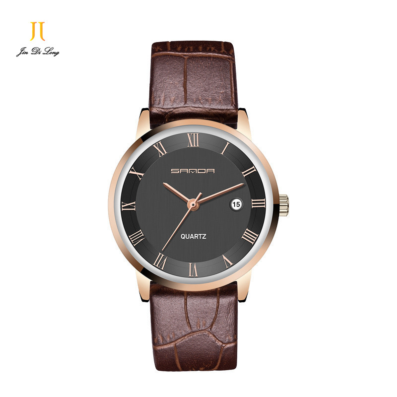 Classic Fashion Ultra Thin Simple Casual Business Watch Mens Quarts Analog Wrist Watches Rome Numeral Leather Strap Classic Fashion Ultra Thin Simple Casual Business Watch Mens Quarts Analog Wrist Watches Rome Numeral Leather Strap