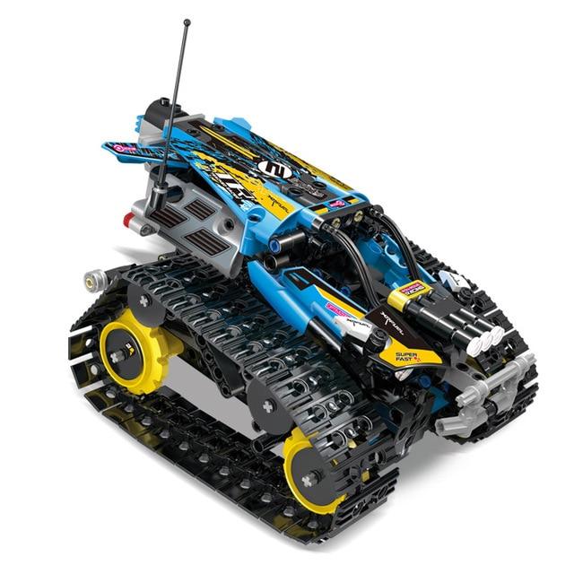 Mould king 13032 13036 rc car racing car remote control crawler racer building blocks city technic lepin™ land