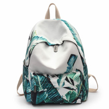 Fashion Big capacity 14inch laptop men women school eastpack backpack literature fresh sac a doc mochila foral printing daypack