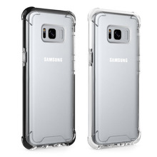 Case For Samsung Galaxy S8 / S8 Plus, Slim Shock Proof Scratch Resistant Clear Transparent Back Cover Protective Phone Case