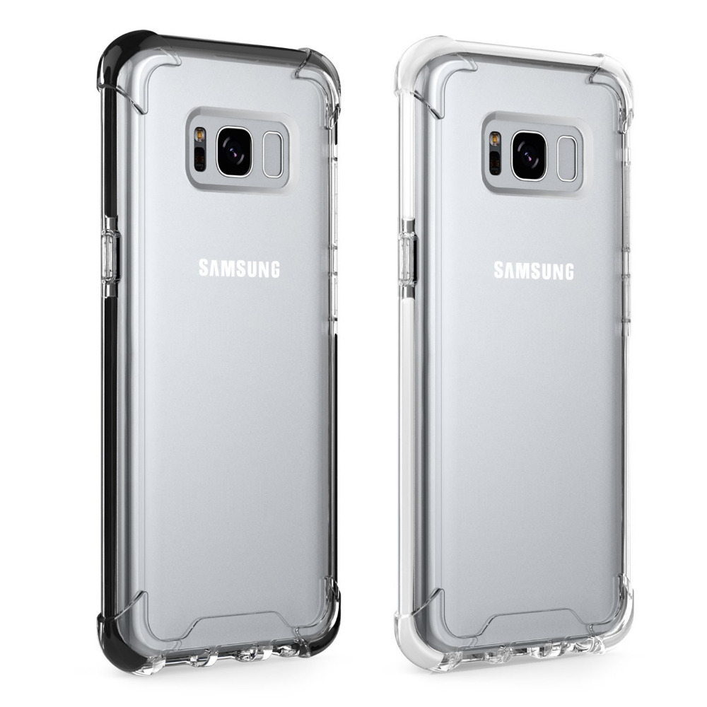 For Samsung Galaxy S Case Clear Transparent Slim Shock Proof Scratch Resistant