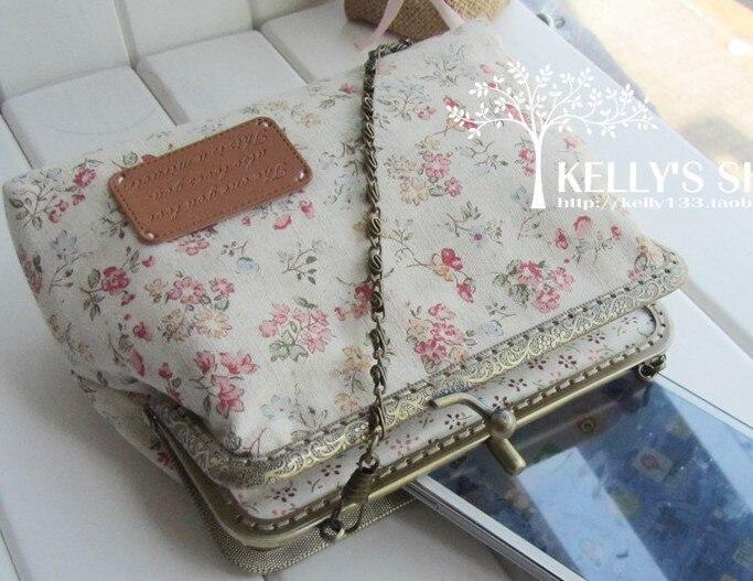 10 colors optional DIY material package carved metal frame handbag needlework mateRial Kit finished product linen lolit wallet