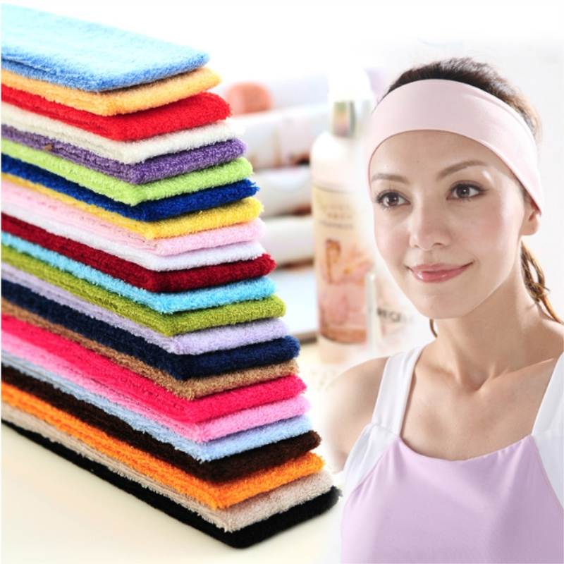 High Quality Yoga Hair Bands Sport Elastic Headbands 1PCS Sports Yoga Accessory Dance Biker Wide Headband Stretch Ribbon