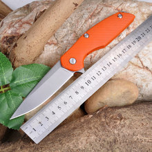 High Quality D2 blade G10 handle 2 colors folding knife outdoor camping survival tool hunting tactical EDC knives
