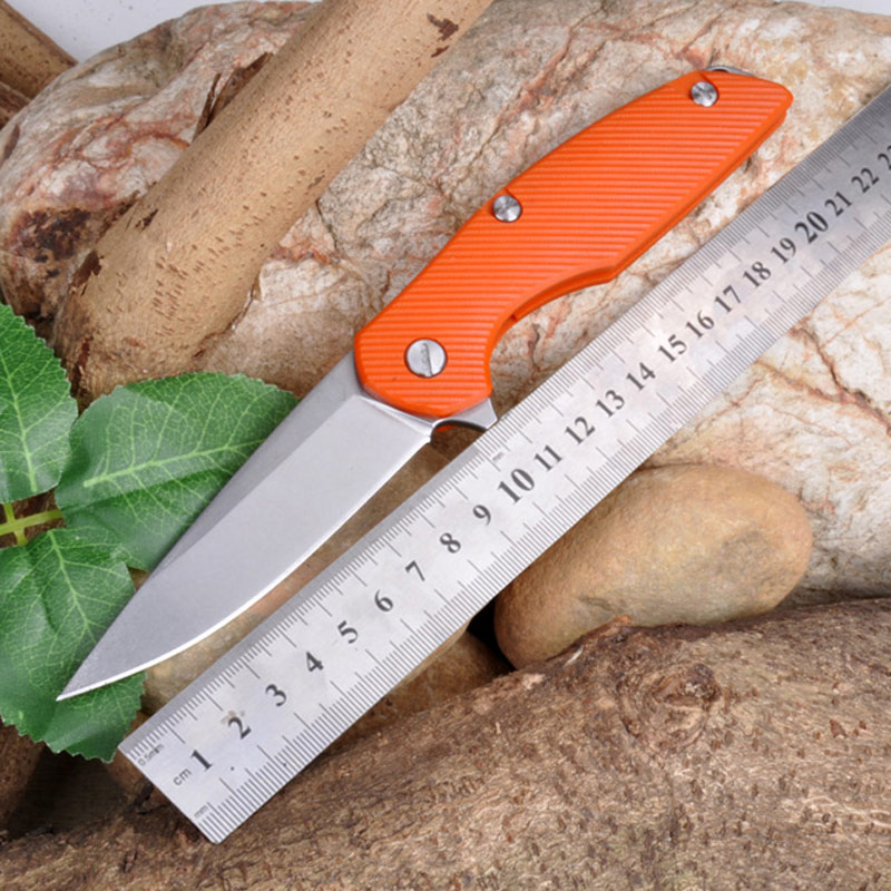 High Quality D2 blade G10 handle 2 colors folding knife outdoor camping survival tool hunting tactical EDC knives  цены