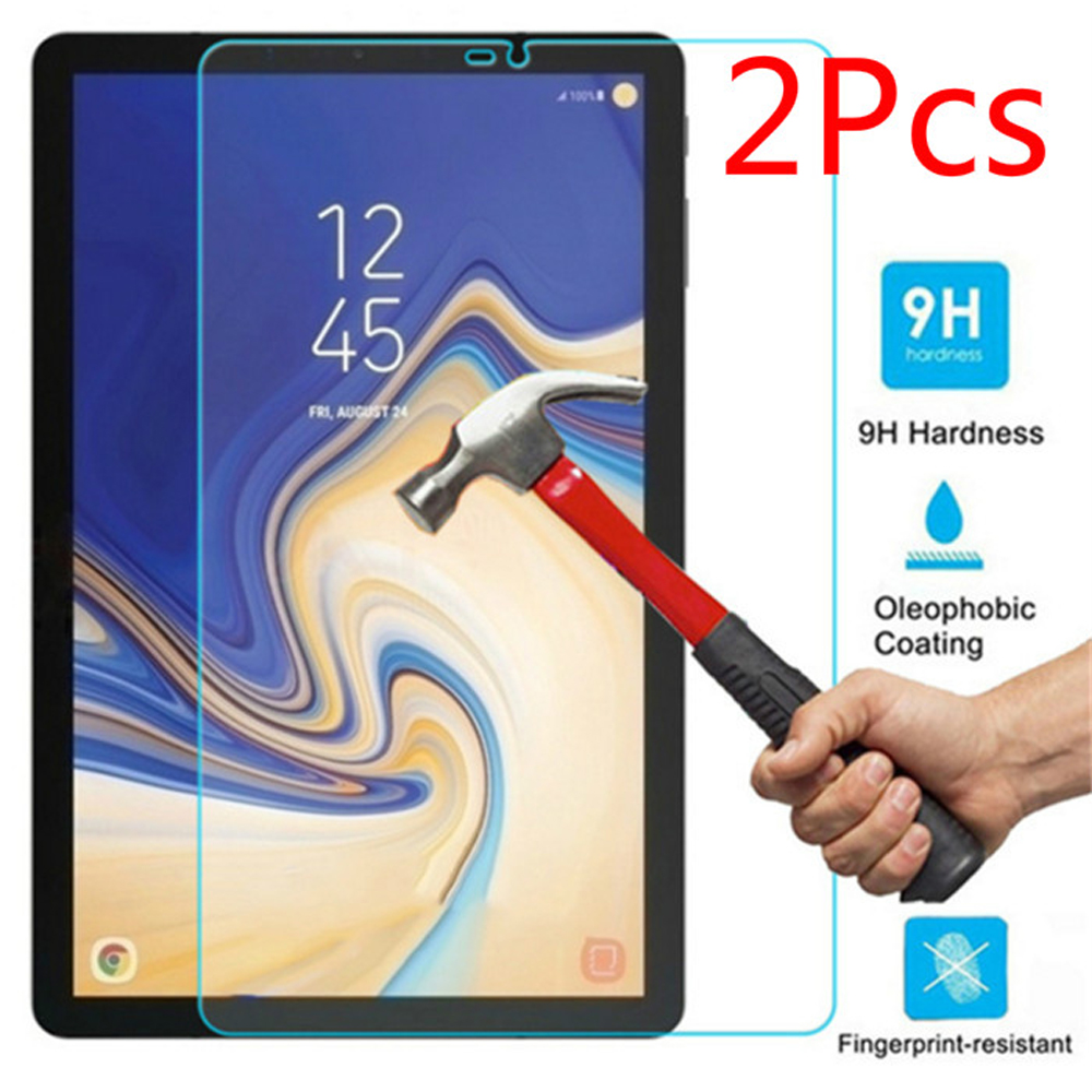 2Pcs/Lot Tempered Glass Screen Protector Film For Samsung Galaxy Tab S4 10.5 2018 T830 T835 T837 SM-T830 Tablet