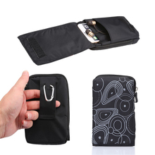 New Sports Wallet Mobile Phone Bag For Multi Phone Model Hook Loop Belt Pouch Holster Bag