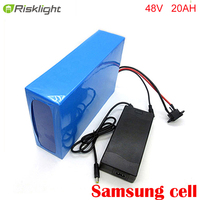 48v Ebike lithium ion battery 48V 20ah electric battery for bafang e bike 48v Electric Bike Battery 48v 20ah + BMS + charger