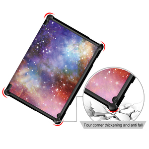 Image 2 - Чехол Funda для Lenovo Tab M10 10,1 дюймов чехол для планшета Lenovo Tab M10 TB X605F TB X605L чехол искусственная кожа + Жесткая задняя крышка из ПК
