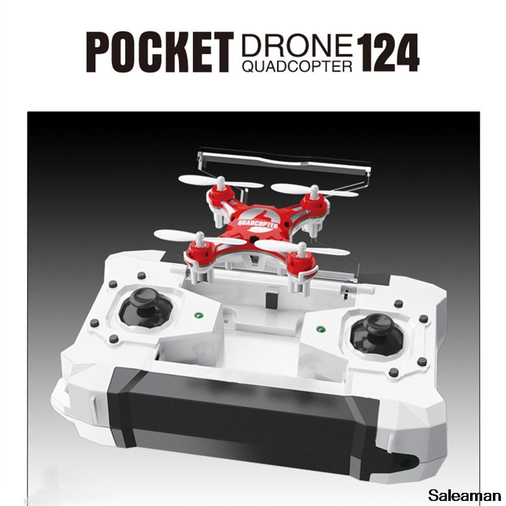 Мини-карманный RC Drone 2.4G 4CH 6-Axis Gyro RTF - Радиоуправляемые игрушки