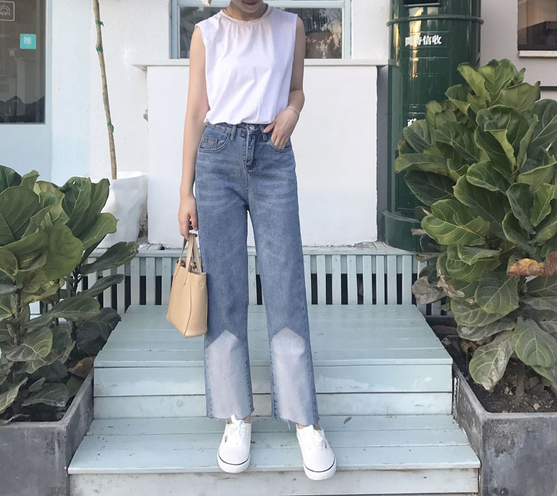 2017  Jeans  Pants Women Trousers Casual Plus Size Loose Fit Vintage Denim Pants High Waist Jeans Women plus size 28 46 men loose casual jeans fashion embroidery printed denim pants retro vintage black homme trousers pancil pants