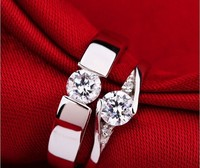 50 Off Heart Engagement Crystal Ring Woman Men Jewelry All For Wedding Bands Rings For Couples