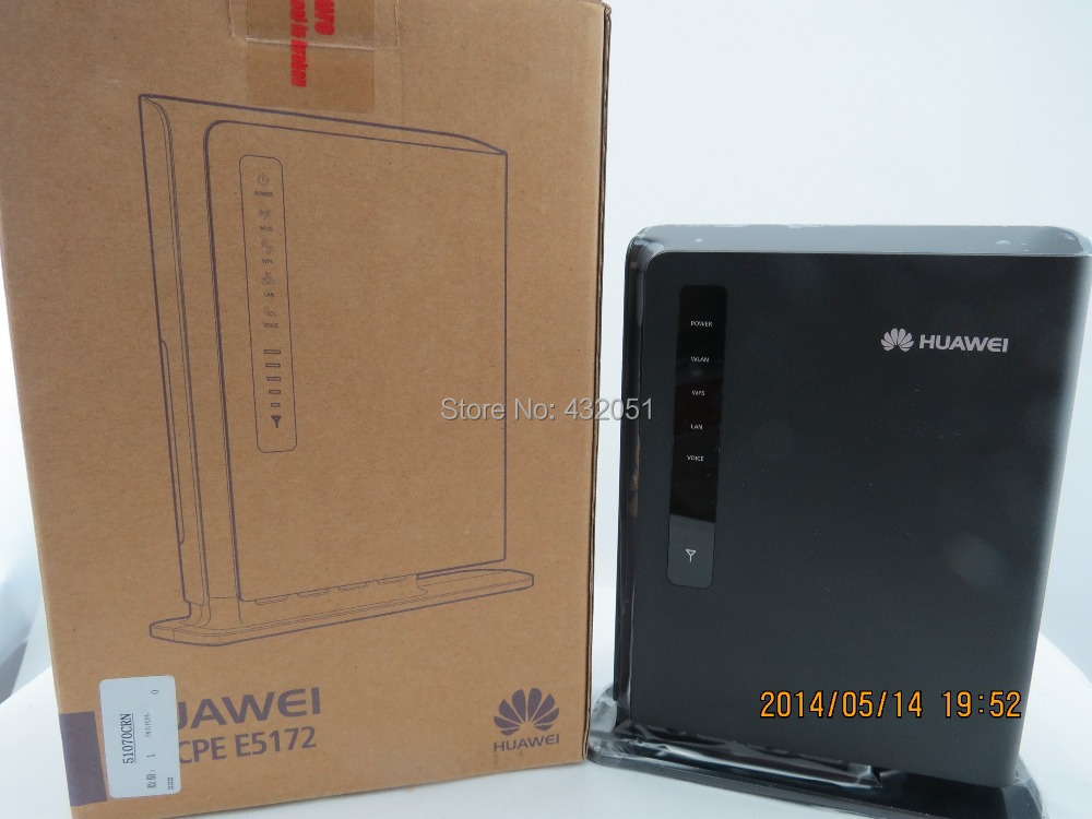 Huawei E5172s-22 150Mbps 4G FDD & TDD LTE Router (Unlocked) including battery