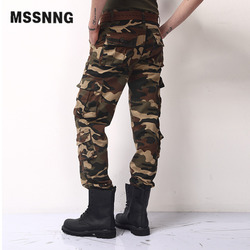 Men casual pants loose camo camouflage cargo pants trousers pants overalls easy wash male autumn army.jpg 250x250