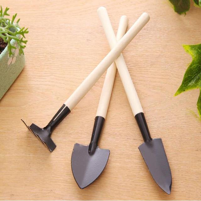 Vente chaude 3 Pc/ensemble Mini Jardin D\'outils À Main Kit Plante ...