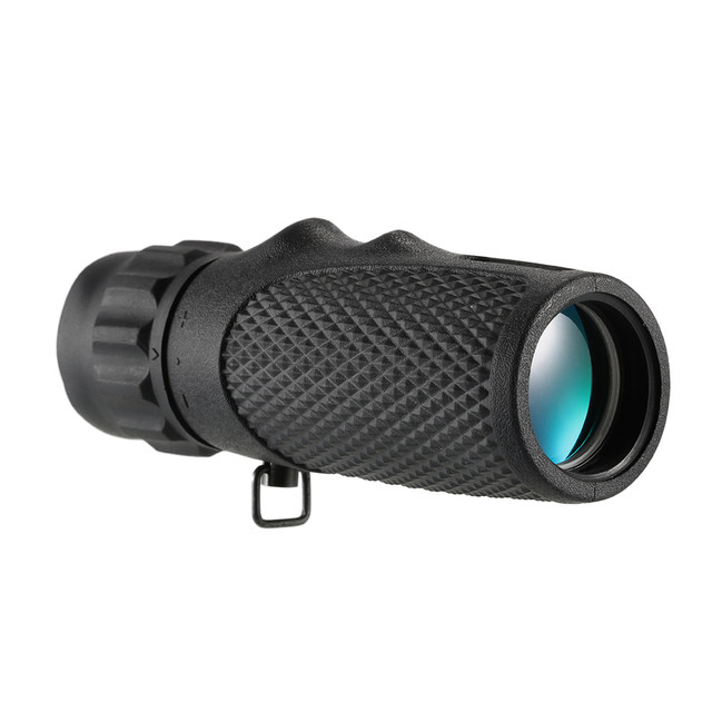 qiaoW 1Pcs 10X25 Mini Pocket Compact Monocular Telescope Multi-layer Coating Lens