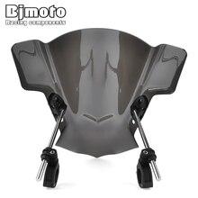 BJMOTO pare brise ajustable pour moto, pour Yamaha MT03 MT25 MT07 FZ07 MT09 FZ09 FZ1 FZ8 YZF R6 SR400