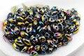Caliente nueva 5x2.5mm luster granos de la semilla de cristal checo dos hoyos super duo 240 unids colorido