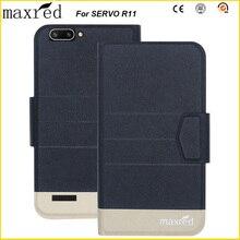 все цены на Original! SERVO R11 Case 5 Colors High Quality Flip Ultra-thin Luxury Leather Protective Case For SERVO R11 Cover онлайн