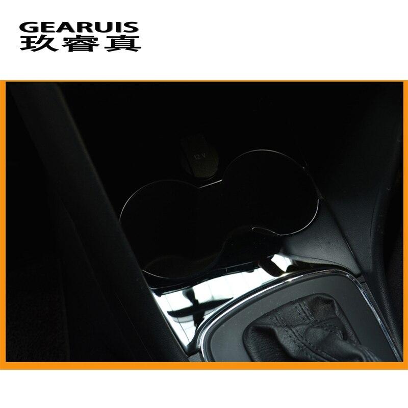 Автомобильный Стайлинг для Volkswagen vw POLO 2011- держатель для стакана воды панель декоративная отделка наклейки покрытие интерьера авто аксессуары