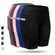 JGS1996 Yoga Pants Women Knee-length Pants With Pocket