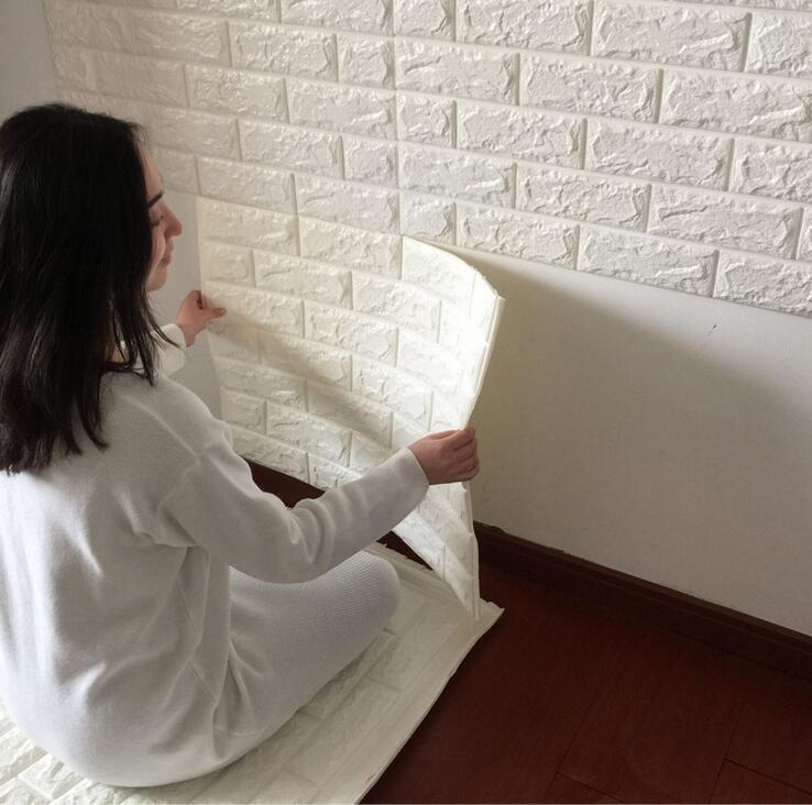 US $7.4 44% OFF|Badezimmer Küche Wasserdichte Wandaufkleber/3D Mosaik  fliesen Tapete Aufkleber/PVC Selbstklebende Mode Wohnkultur Aufkleber-in  Tapeten ...