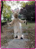 llama Mascot Costume Cartoon Character carnival costume fancy Costume party 401457