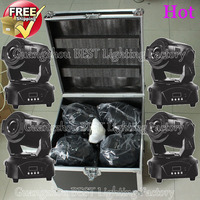 4pcs Lot Led Moving Head Spot 90w With A Flight Case Moving Head 90w Led Source