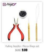 слив ручка вытягивая иглу/микро-кольца/иглы Пти химический наращивание волос с химической наращивание волос инструменты обычной небольшой пакет