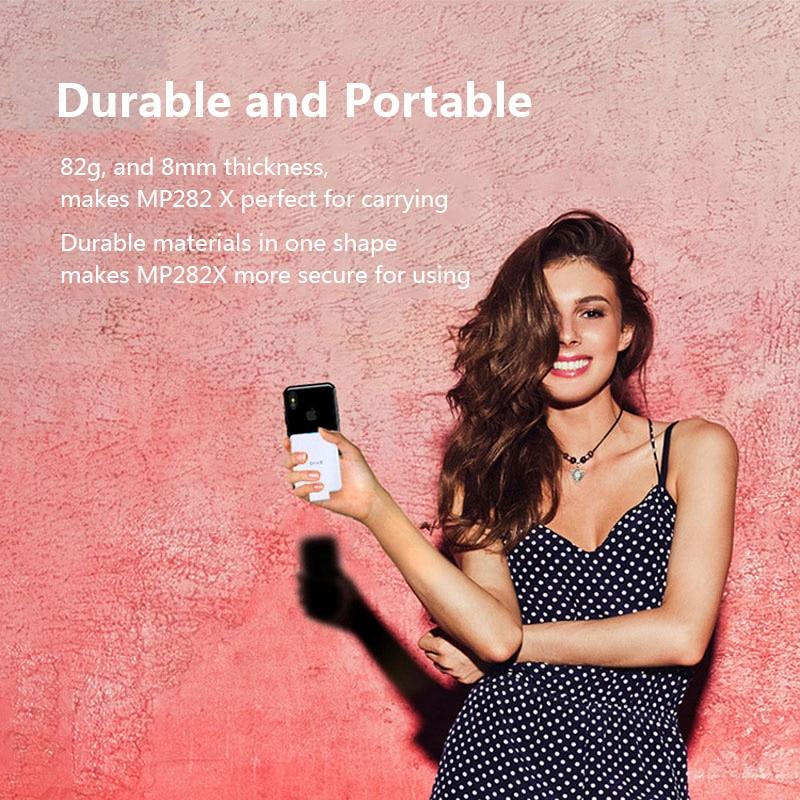 Batterie externe sans fil mince chargeur de batterie de secours externe pour iPhone 8/Samsung S6/One plus 5/HTC boîtier d'alimentation récepteur Qi intégré - 6