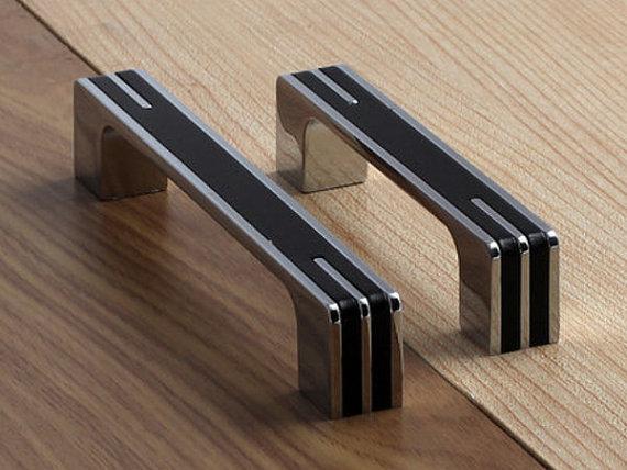 ... 375 5 63 Modern Silver Black Kitchen Cabinet Door Handles ... & Cabinet Door Handles Choice Image - doors design modern