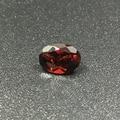 Natural garnet loose stone oval shape garnet stone 5*7mm 0.6 ct GIC certificate loose gemstone