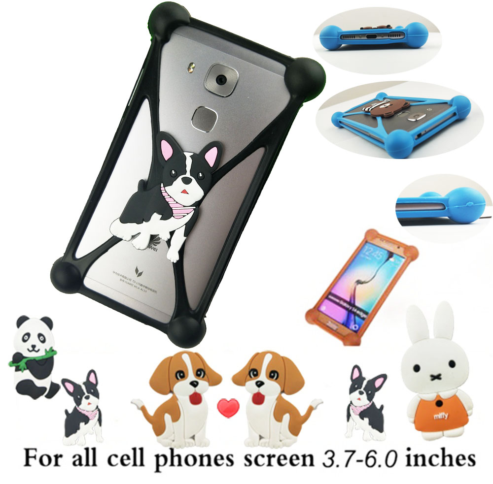 Fashion 3D Cartoon Anti knock TPU Rubber Cell Phone Case For ZTE Prestige N9132 Silicone Phone Cover Capa