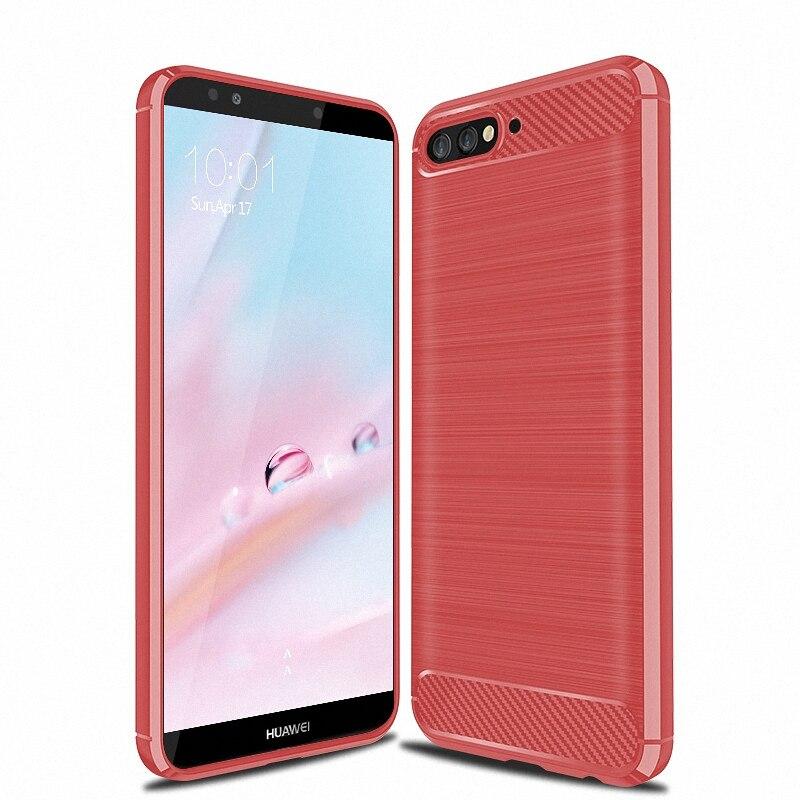 designer fashion 8e8ca fec79 US $3.09 20% OFF for Huawei Y6 2018 Shockproof Phone case cover for Huawei  Y6 2018 ATU L11 ATU L21 ATU L22 ATU LX3 Slim Armor case back cover-in ...