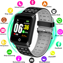 HOT Smart Watch 1.44inch Full Tough Screen Breathing Light Fashion Sports Heart Rate Monitor for Android IOS Phone