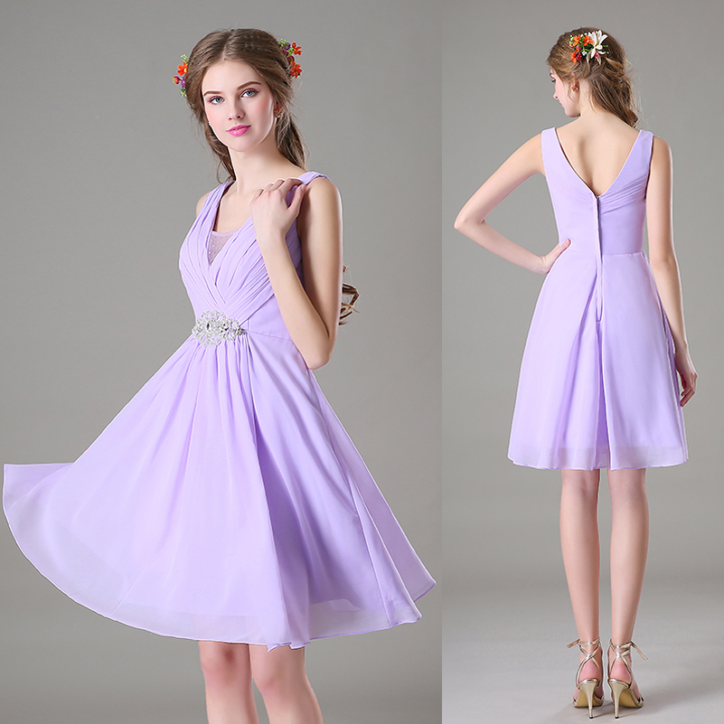 Lavender junior bridesmaid dresses for Dresses for juniors for weddings