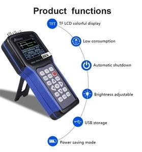 Image 3 - Portable Handheld Oscilloscope  Jinhan JDS2023 Digital Storagesignal function generator 20MHz oscilloscope AC/DC Input coupling