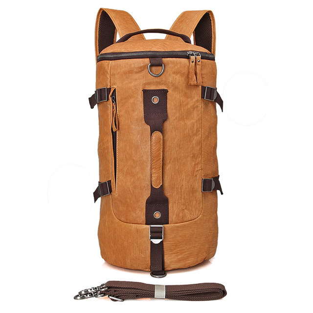 c6a1843e12a3 JMD Stylish Vintage Travel Large Capacity Backpack Male Luggage Shoulder Bag  Computer Backpacking Men Women Versatile Laptop Bag