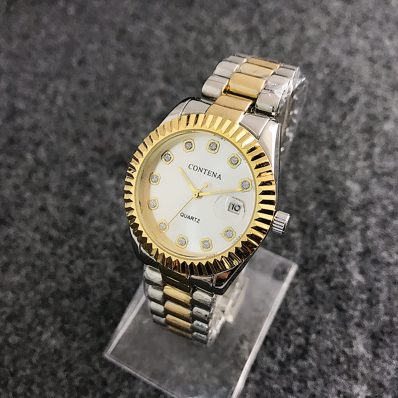1193RZNew Brand Quartz Clock Women Clock Rhinestone Diamond Wrist Watches Ladies Fashion watch Relogio Feminino Montre Femme